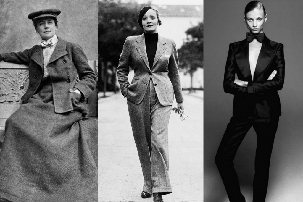The Brief History of Women's Suits